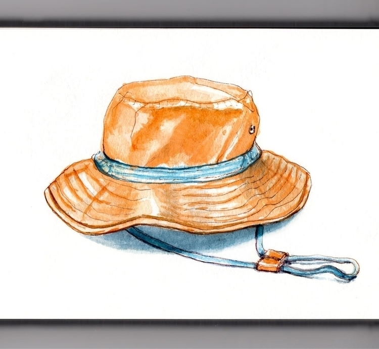 Wearing Hats - watercolor, watercolour - doodlewash | ello