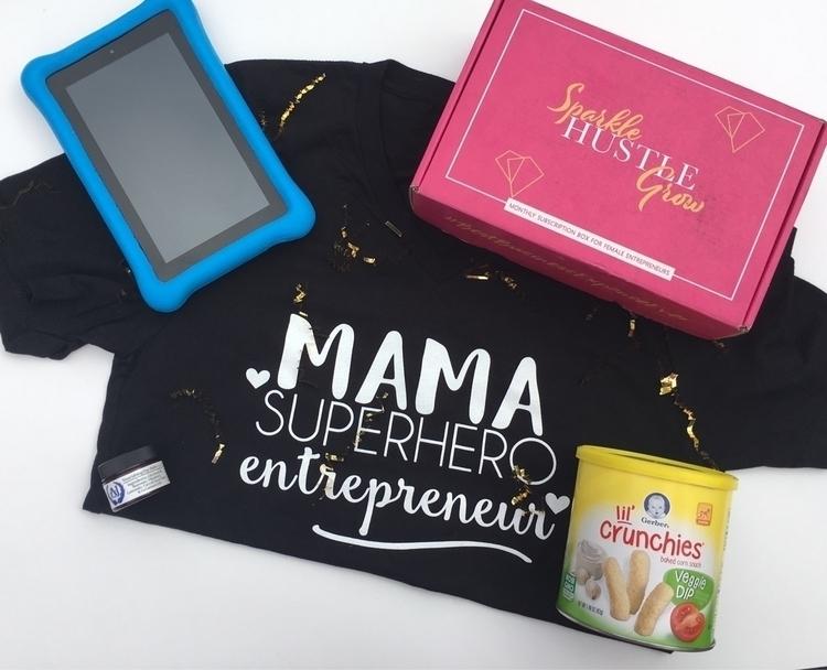 boss mama Puffs, box goodies, t - hudsonlilliandesigns | ello