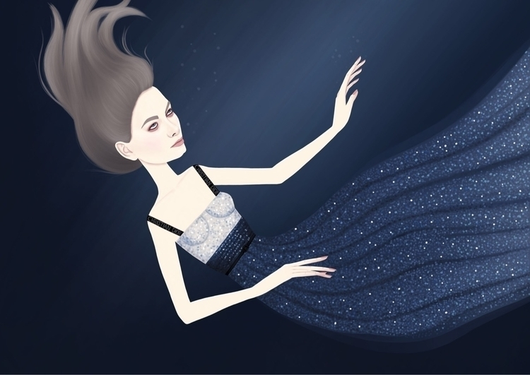 DROWNING DIOR - fashionillustration - studioveronica | ello