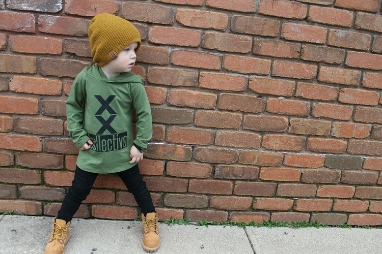 Hands loves Khaki hoodie colour - collectivekidsthreads | ello