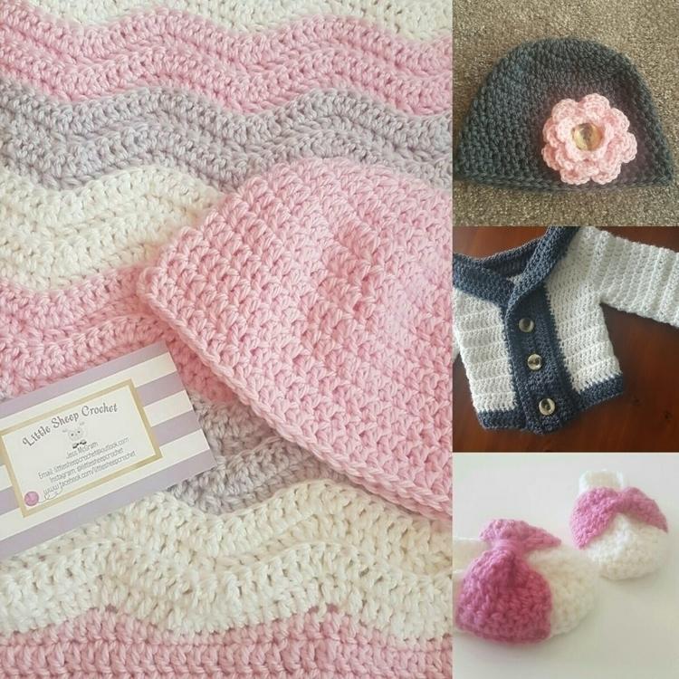 Jess, crochet garments blankets - littlesheepcrochet | ello