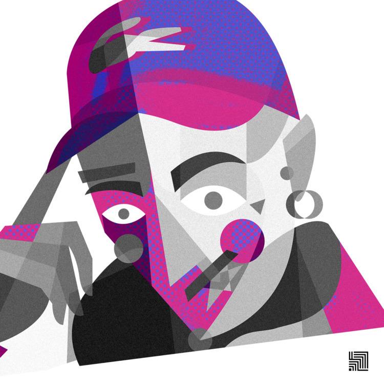 SAMUEL HERON  - illustration, portrait - efferossini | ello