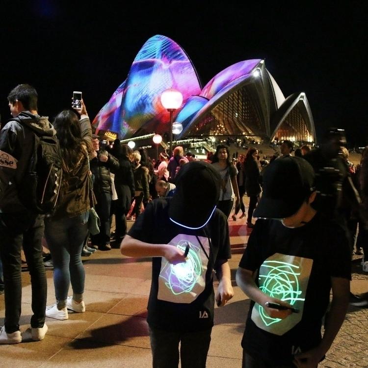 glow tee illuminated apparel vi - illuminated-apparel   ello
