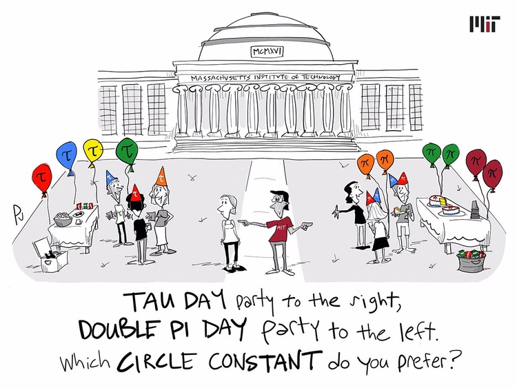 agree circle constant? Tau Day - chumworth | ello