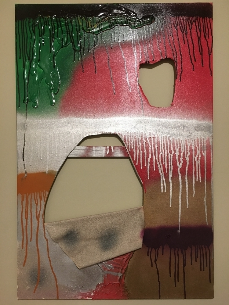 Decay Acrylic spray paint canva - artbyslattery | ello