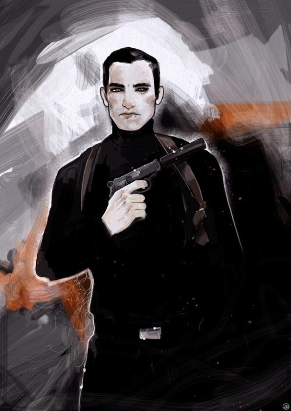 007 - illustration, artwork, drawing - shugmonkey | ello