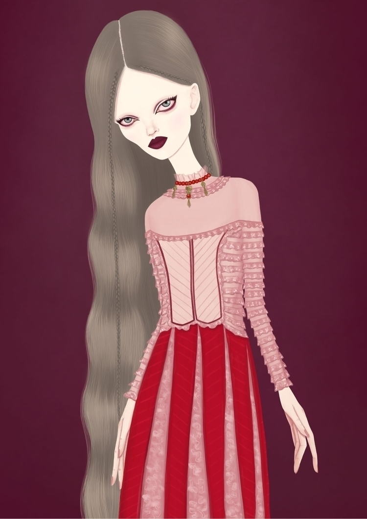 VALENTINO - fashionillustration - studioveronica | ello