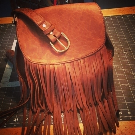 close finishing Bohemian bag!!  - thebuckingmare | ello