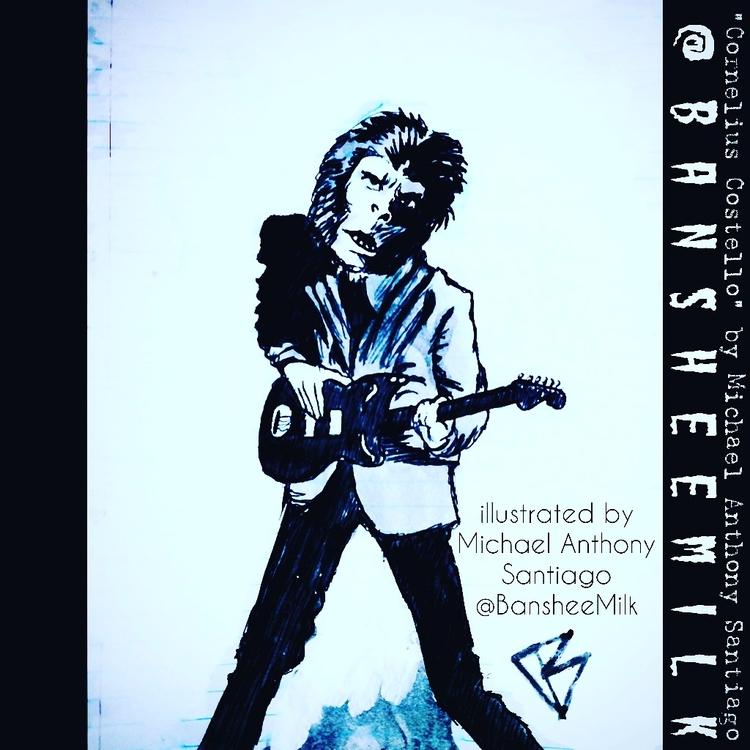 Elvis Costello love child Corne - bansheemilk7 | ello
