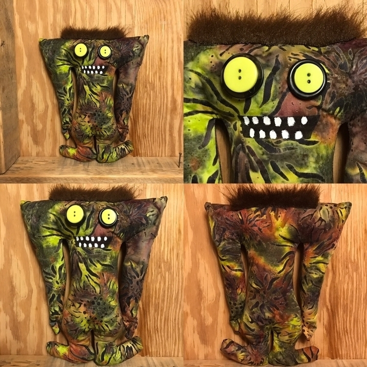 Woodland Tall Monster  - handmade - tykesanimalkingdom | ello