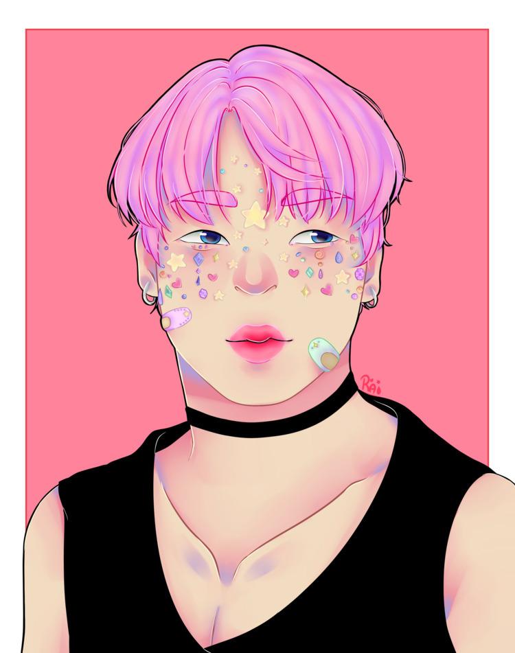 pastel version Park Jimin - rai_niji | ello