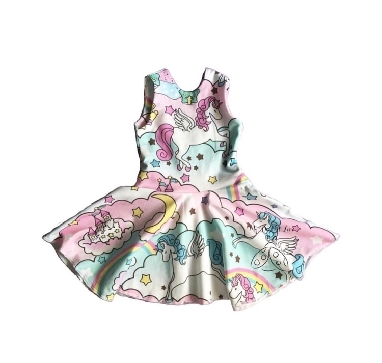 Unicorn Dream circle dress. siz - mydearestlivi | ello