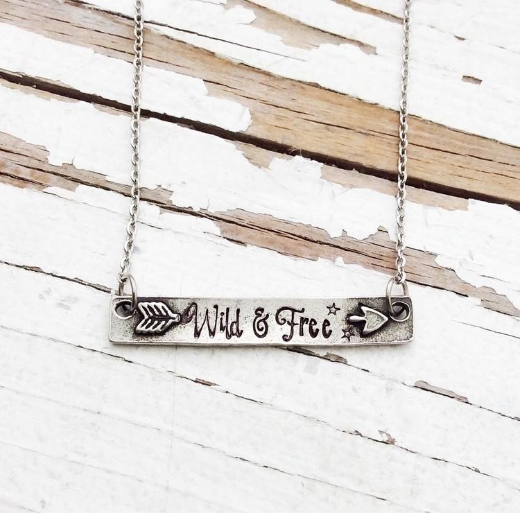 gorgeous pewter necklace length - faeriekissage | ello