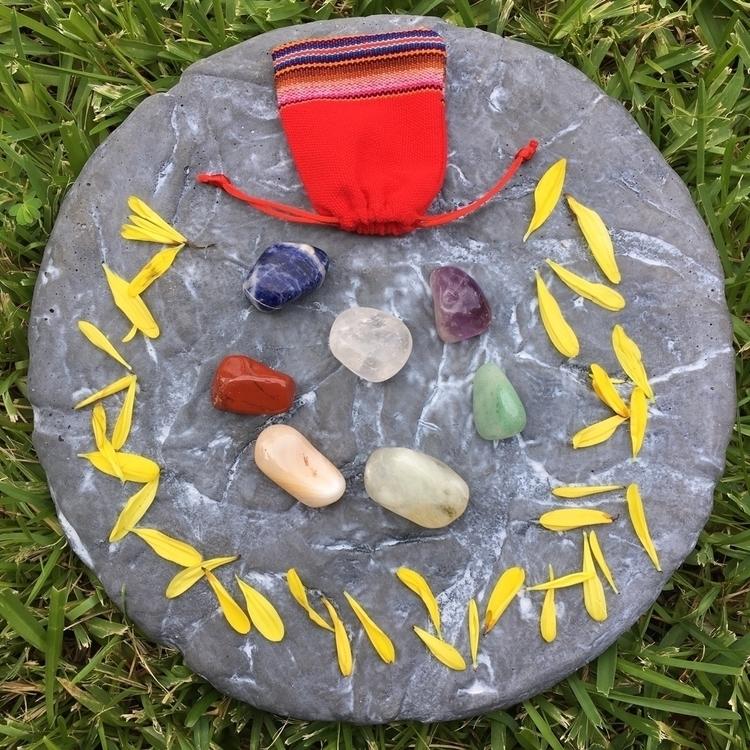 Large Chakra set $15+$1.50 sh  - aljewelers | ello