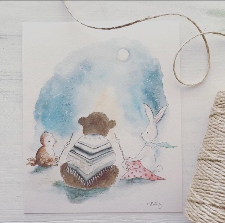 adore sweet illustration create - artbydimity | ello