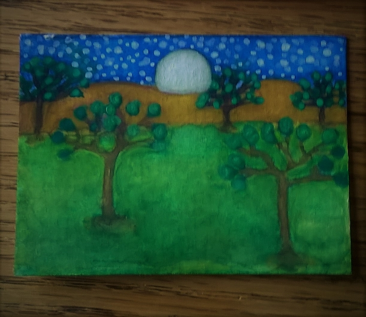 happy place 3x2 watercolor - donebyme - teerivsaid | ello