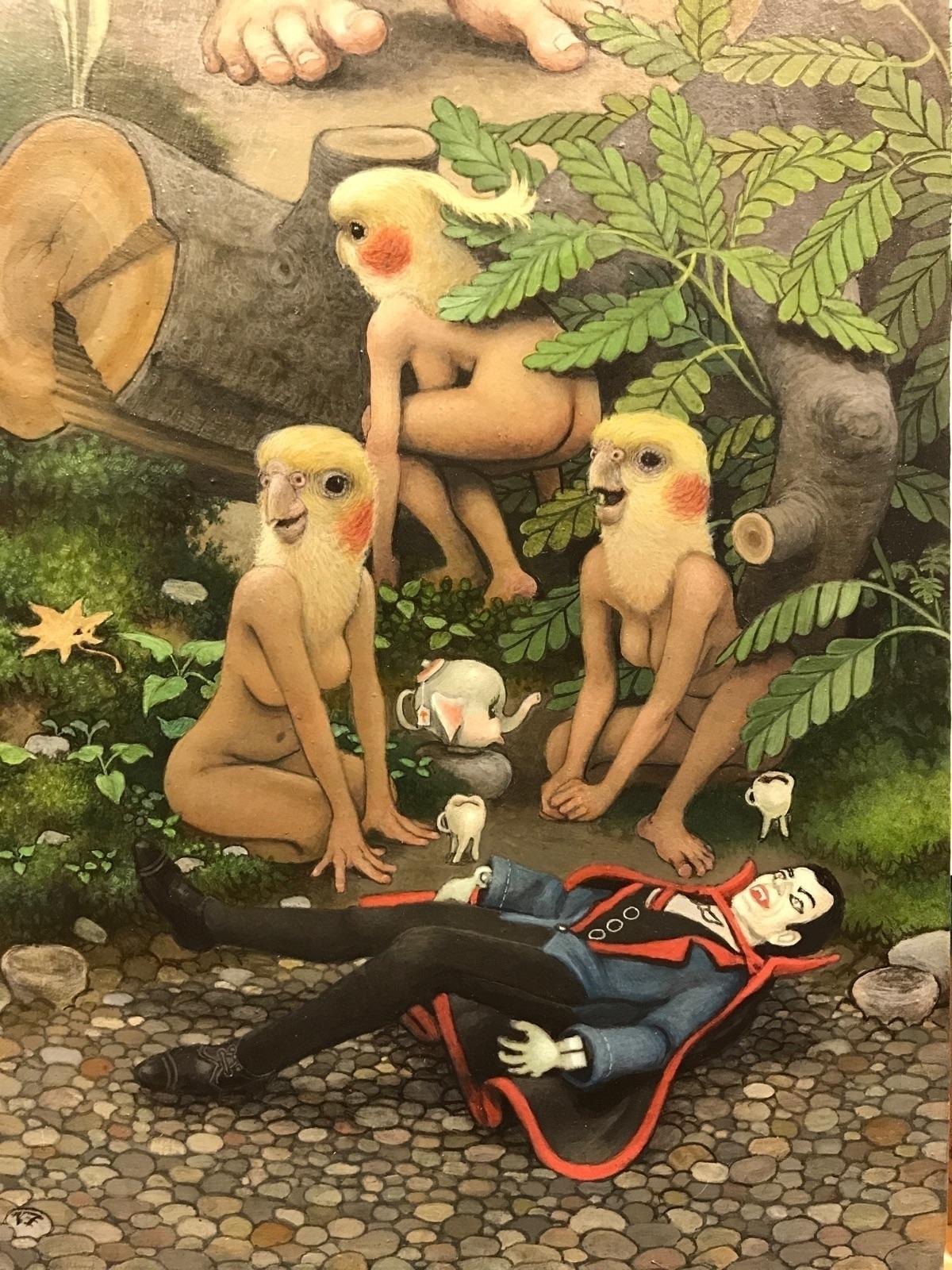 Detail Happy Man~ acrylic board - _mattgordon_   ello