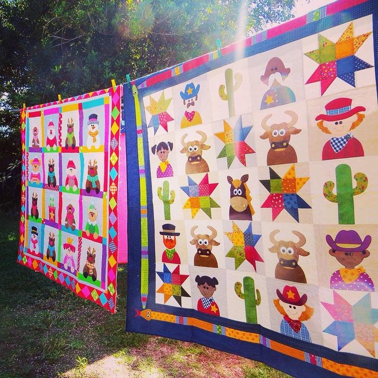 Work + Sunny Days. design quilt - theredbootquiltco | ello