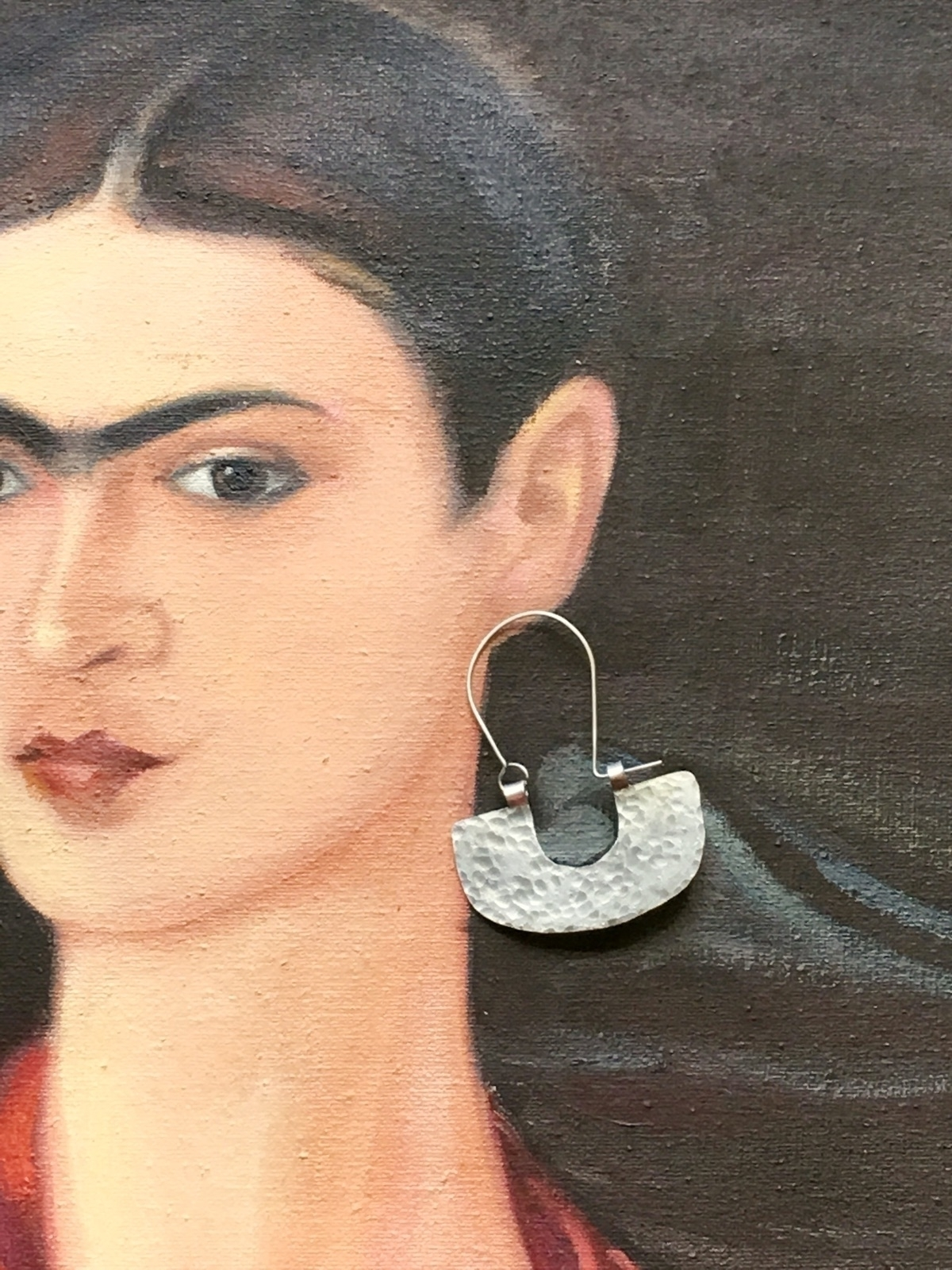 style hammered hoop earrings sh - asotojewelry | ello