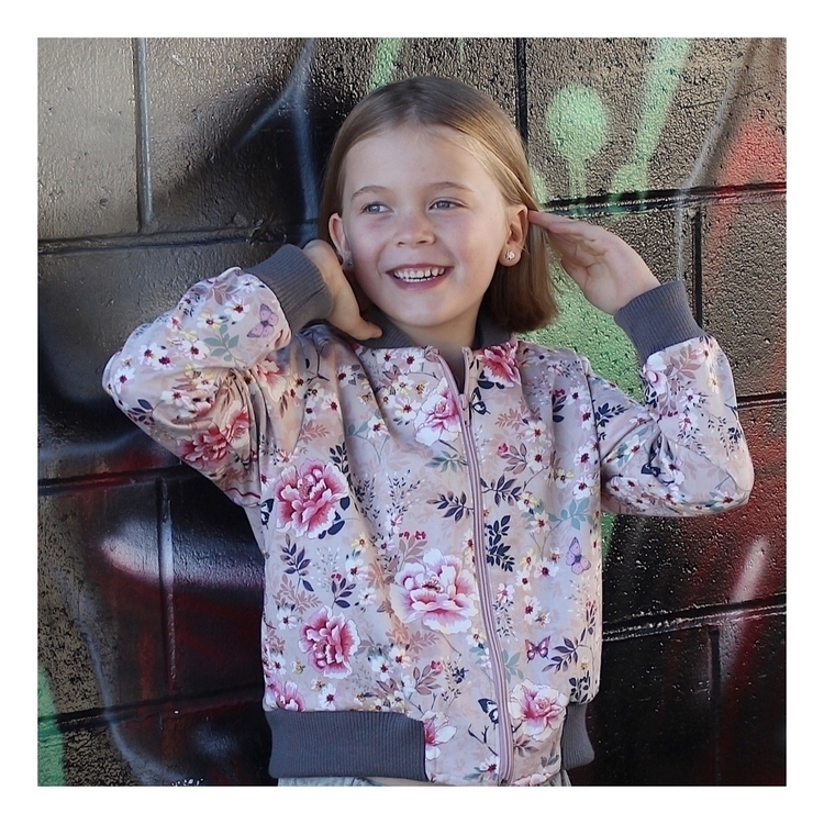 floral kids bomber jacket inspi - youngsquad   ello