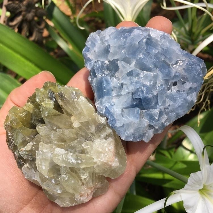 Gorgeous Calcite chunks grabs!  - thesacredcrystal | ello