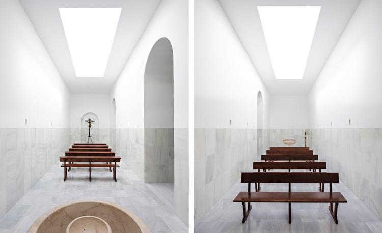 Chapel Blessed Sacrament, Sevil - elloarchitecture | ello