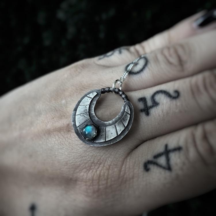 crescent moon baby! Labradorite - project_om_jewels | ello
