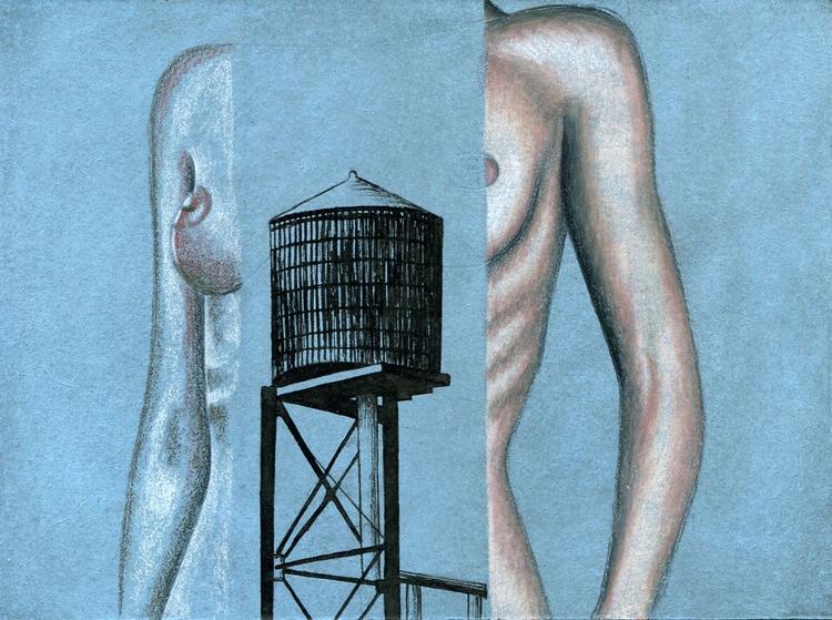 1, illustration, ink, pastel - genpopart | ello