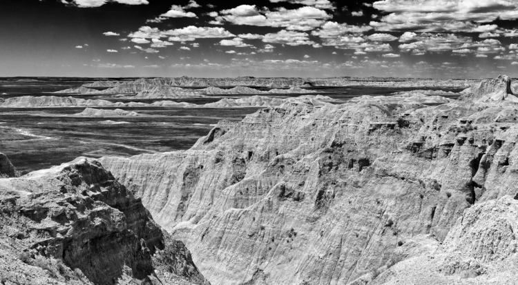 distant horizon Badlands Nation - docdenny   ello