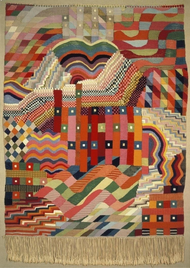 design Gunta produced 1926 - Tapestry - bauhaus-movement   ello