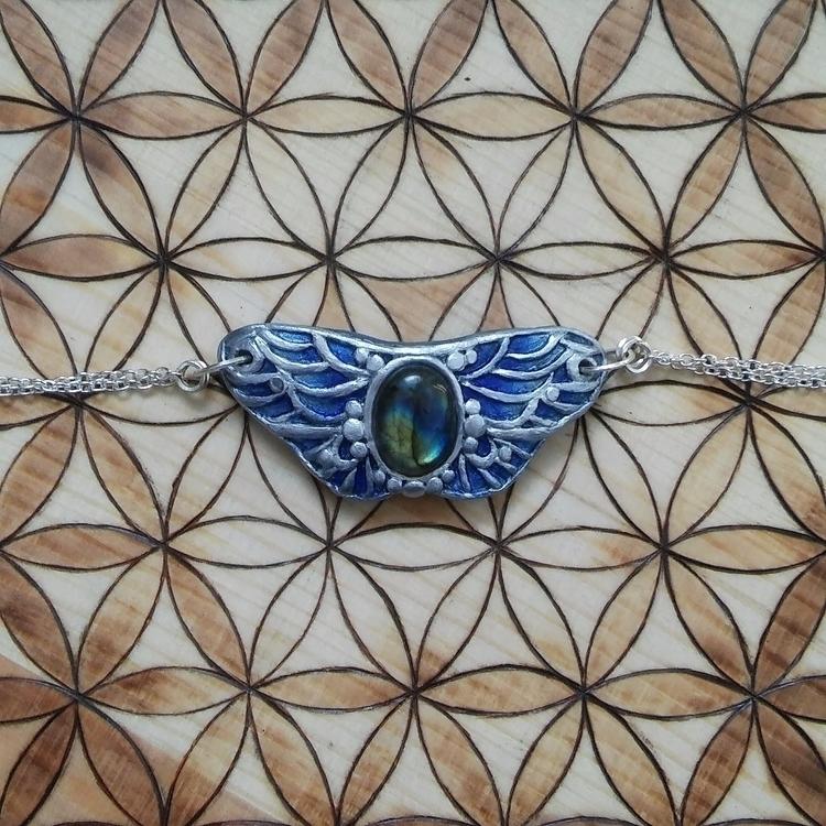 handmade butterfly choker neckl - hyrulian_creations | ello