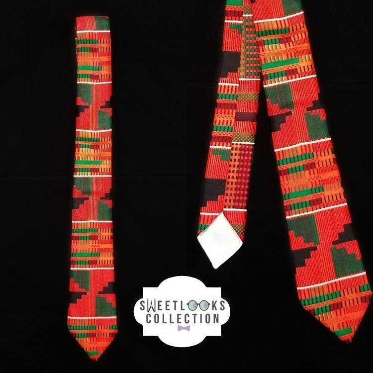 Kente neck tie - sweetlookscollection | ello