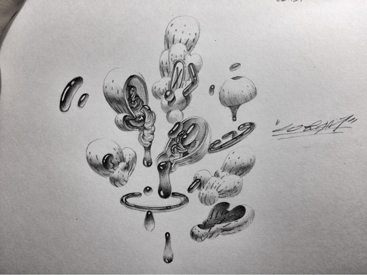 drawing paper. 2017 pencil arti - 08am | ello
