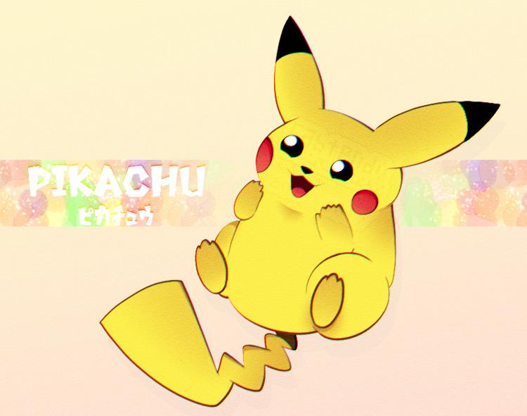 fanart Pikachu - pineappa | ello