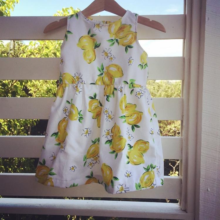 Shop sweet lemon dress website  - adaandnoble | ello