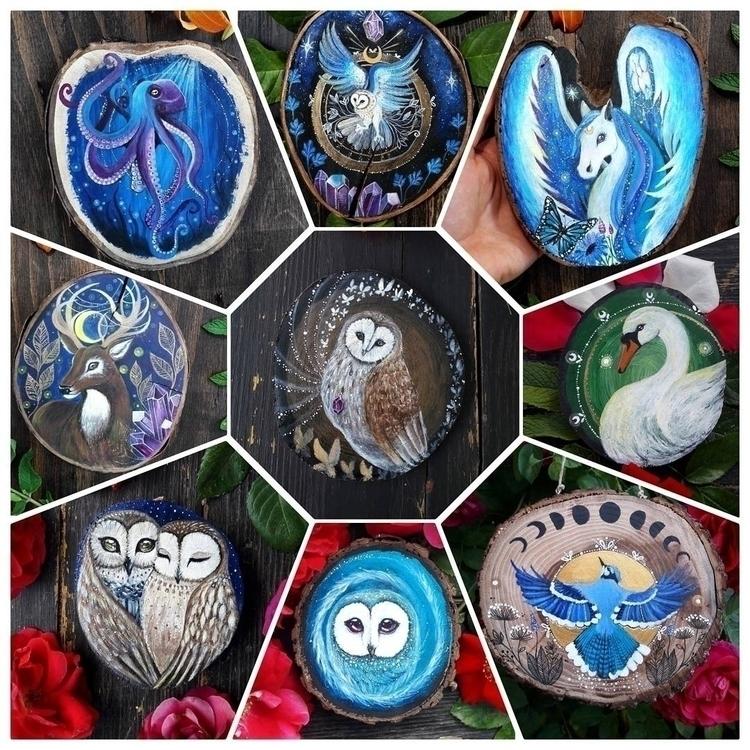 wooden ornaments shop - elloart - magicwood_creations | ello