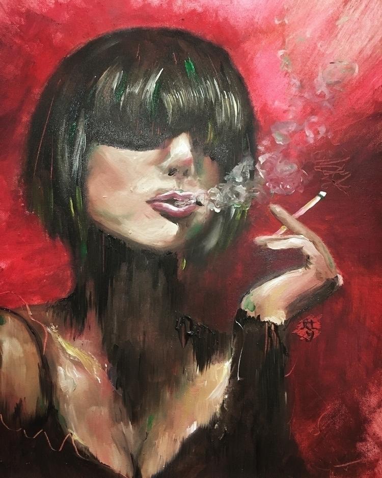 Love painting portraits! Experi - runawayamy | ello