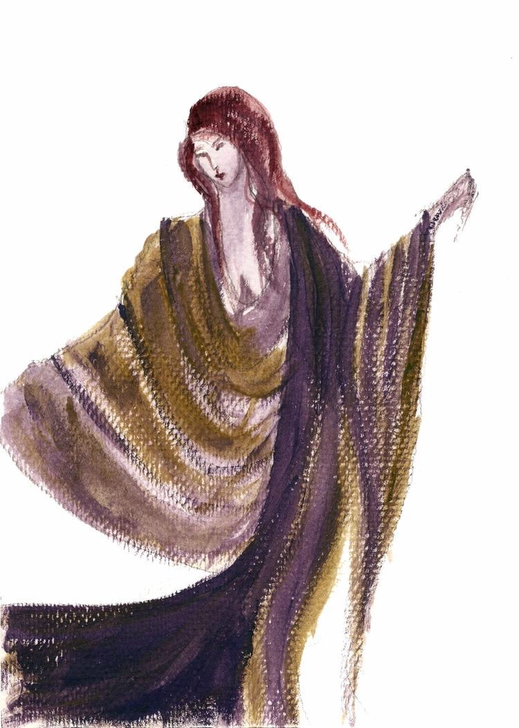 Dance Caught movement, flowing  - haleh_creates | ello