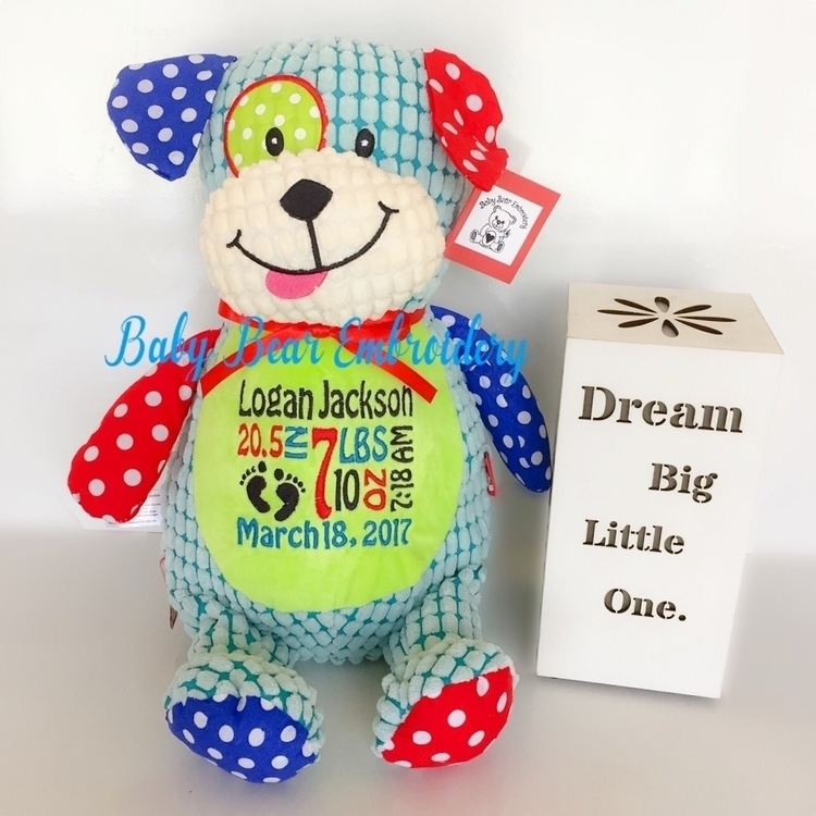 love cheeky pup! popular teddie - babybearembroidery   ello