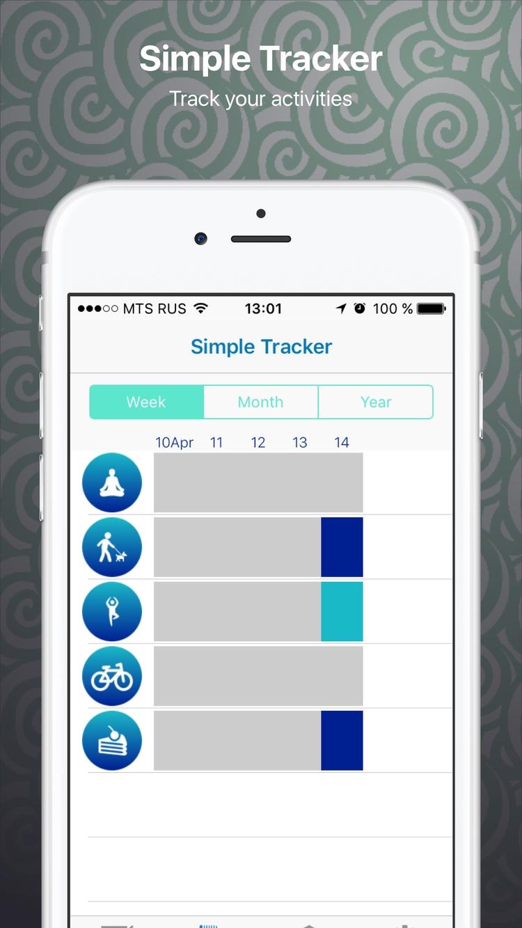 Simple-Tracker App Store - oleka | ello