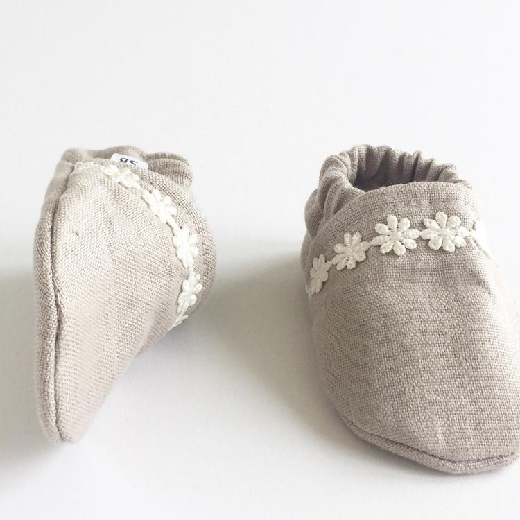 Wheat linen white lace 35% toni - sadie___baby | ello