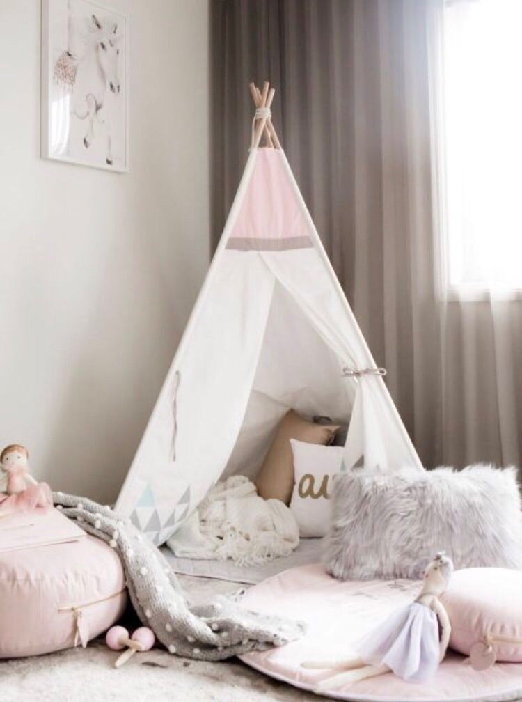 BLUSH SKY TEEPEE - perfect teep - _cattywampus_ | ello