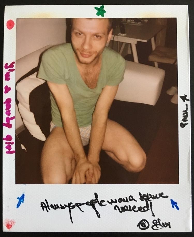 Polaroid, signed, unique. Follo - razvanion | ello