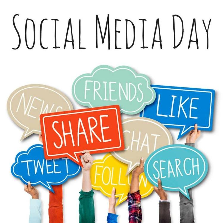 HAPPY SOCIAL MEDIA DAY  - maiasimonishvils | ello