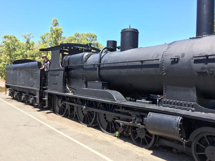 Murray bridge steam train herit - bilbycoote | ello