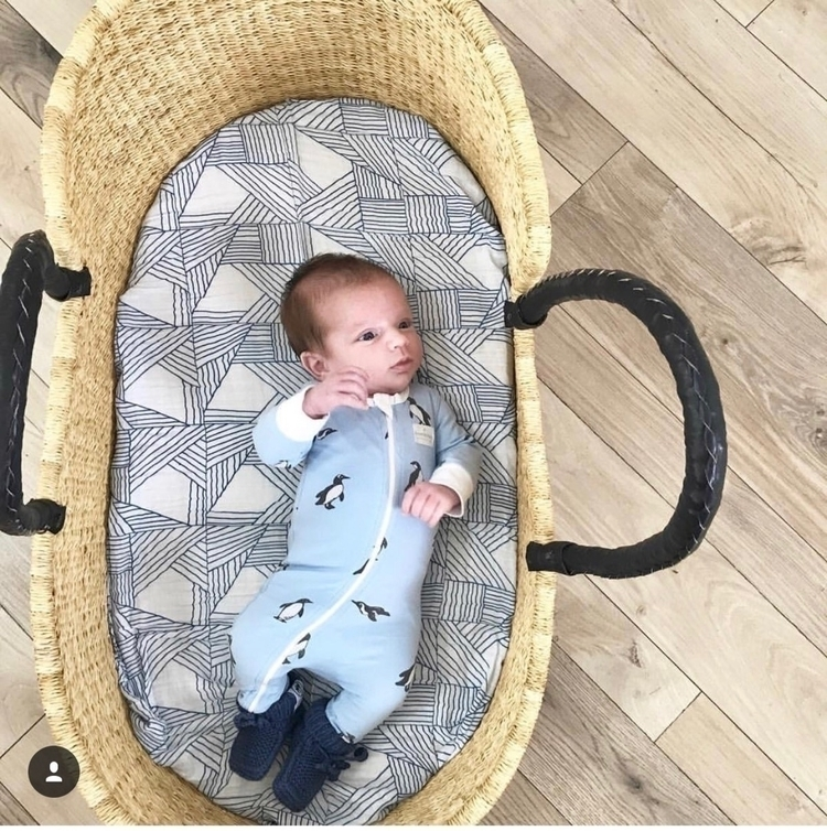 rocking organic swaddle wrap or - pearandco | ello
