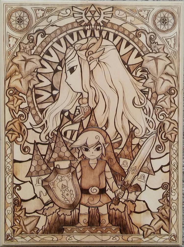 love video games Legend Zelda.  - hyrulian_creations   ello