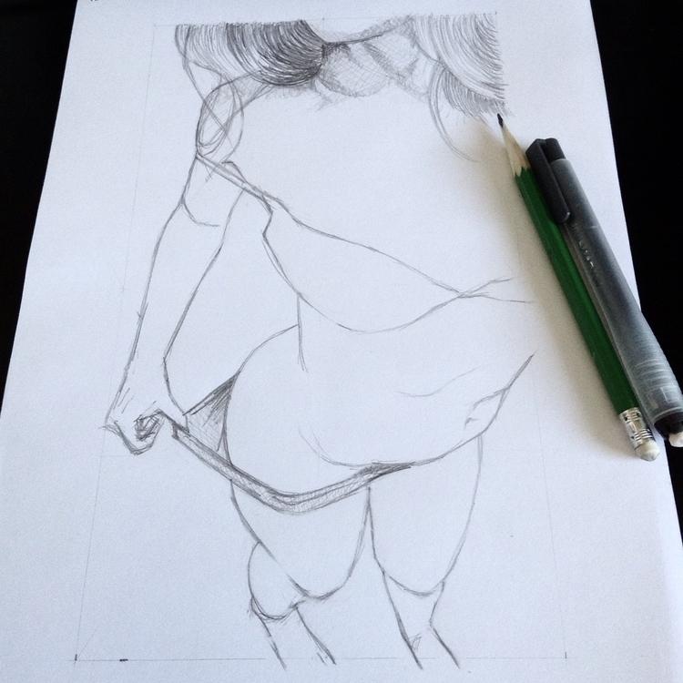 elloillustration, pencil, sketchbook - emiledidit | ello