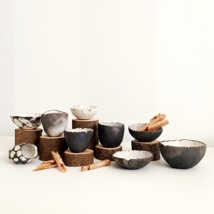 collection raku bowls - rakufired - highyieldstudio | ello