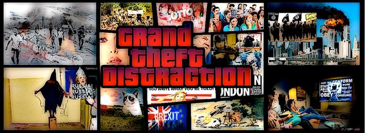 GRAND THEFT DISTRACTION magicia - thefreedomcycle | ello